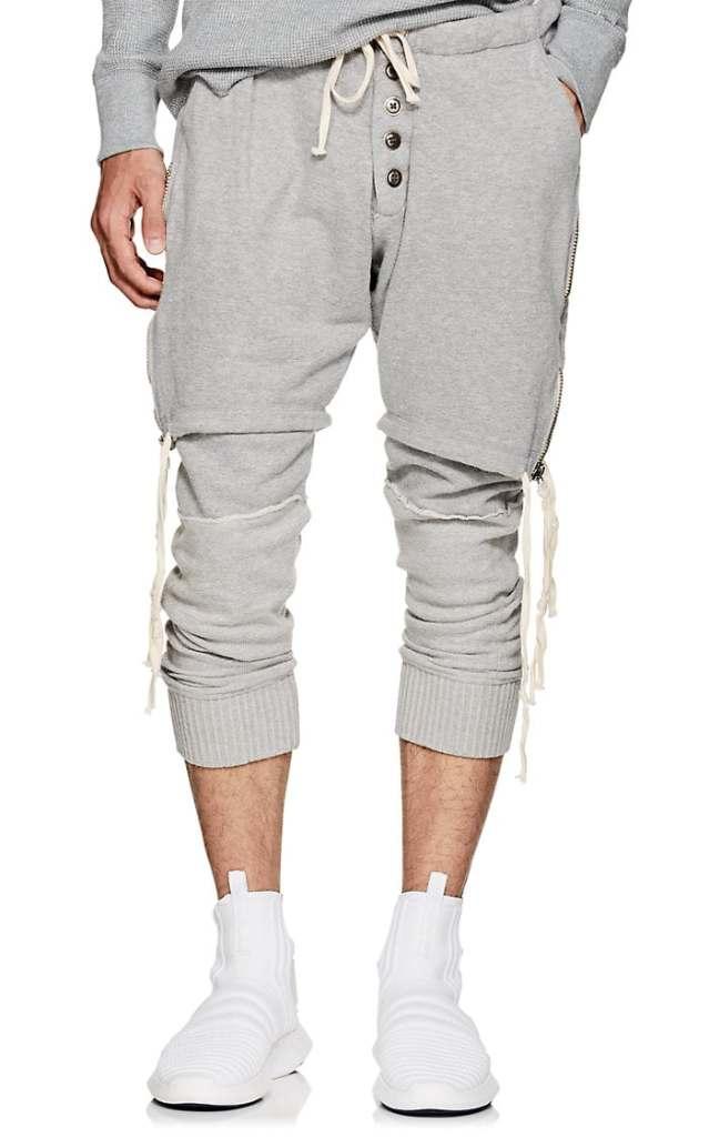greg-lauren-layered-cotton-lounge-pants