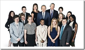 Young Apprentice 2011 - Cast