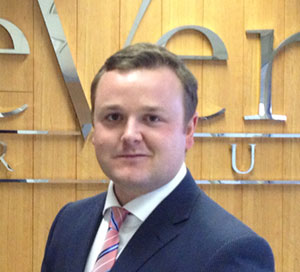 Alex Sedgfield, Area Manager, Geneva, deVere Switzerland
