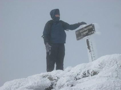 mount washington summit photo