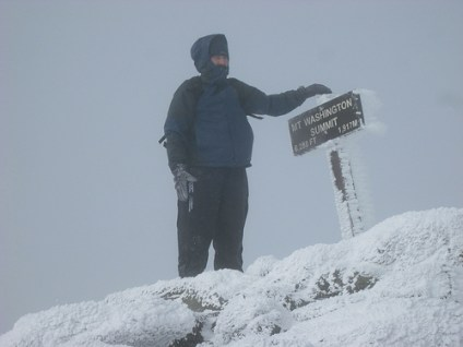 mount washington summit photo