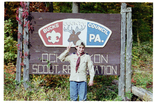 cub scout sign photo