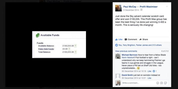 Profit Maximiser — Facebook Screenshot (1-1)