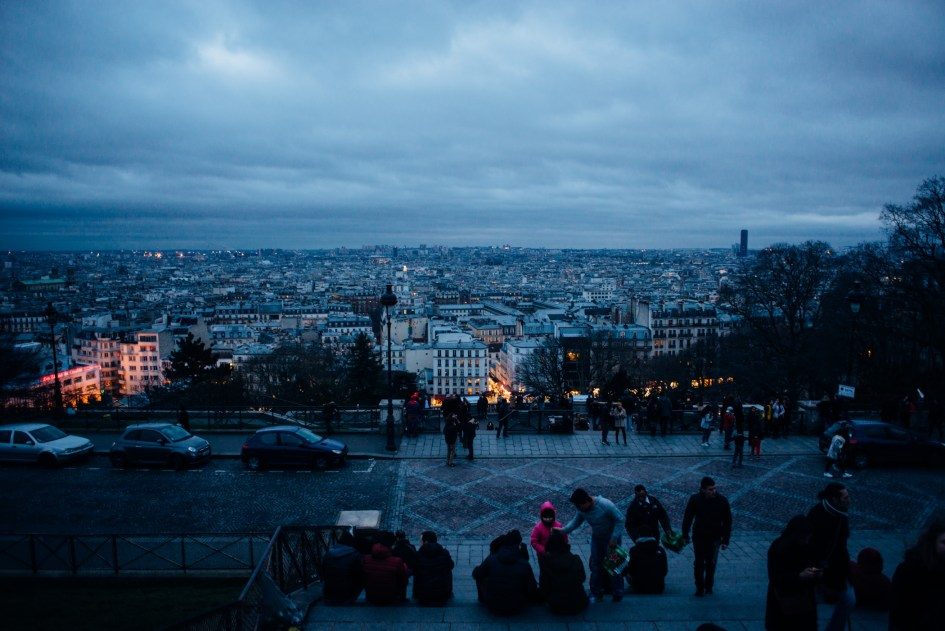 Paris, France – Feb. 19-21 with Ivanna, Namhee and Naomi.