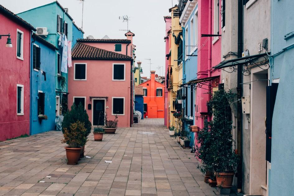 Venezia, Italia – Exploring Torcello and Burano.