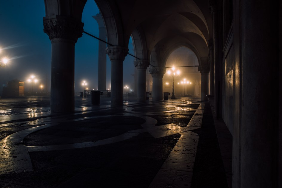 Sunrise at the Palazzo Ducale, Venezia.