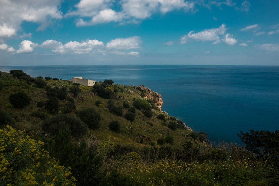 Landscapes in the Zingaro nature reserve , Castellammare del Golfo, Sicilia.