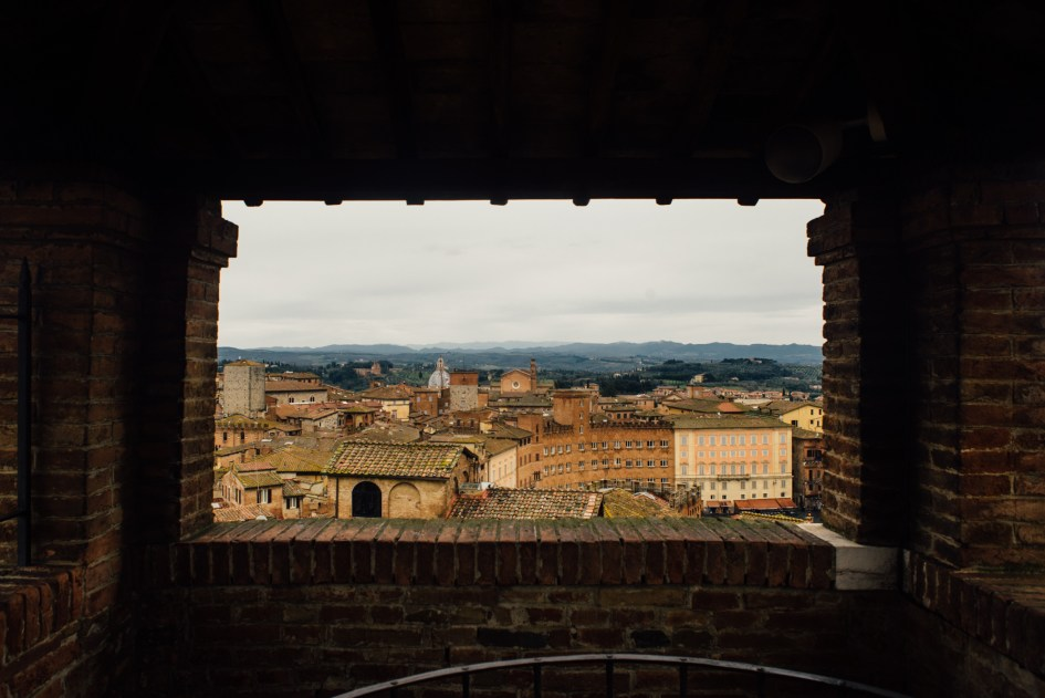 View of Siena.