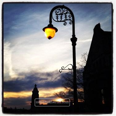Sunset Near Sample Gates