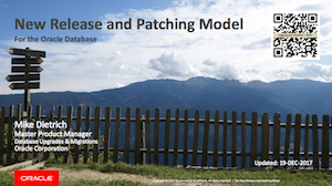 The New Release and Patching Model