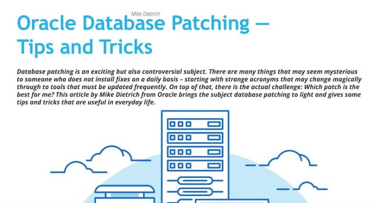 ORAWORLD Mag: Oracle Database Patching - Tips & Tricks