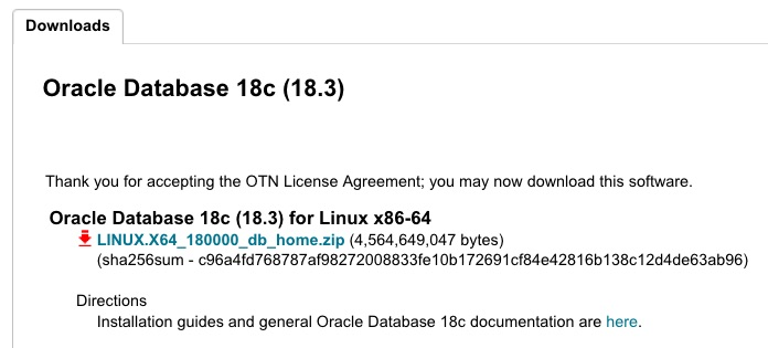 Oracle 18.3.0 on premises includes 1.4GB patches?