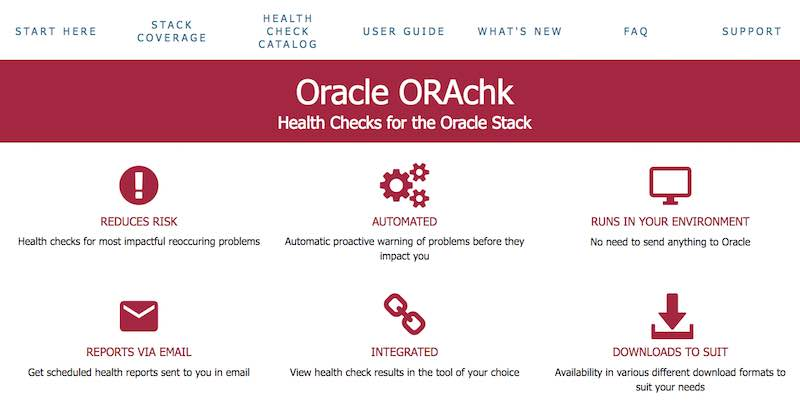 Oracle ORAchk and EXAchk Version 18.3.0 are released