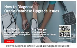 How to diagnose Upgrade Issues