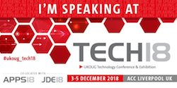 UKOUG Tech18 : See you there!