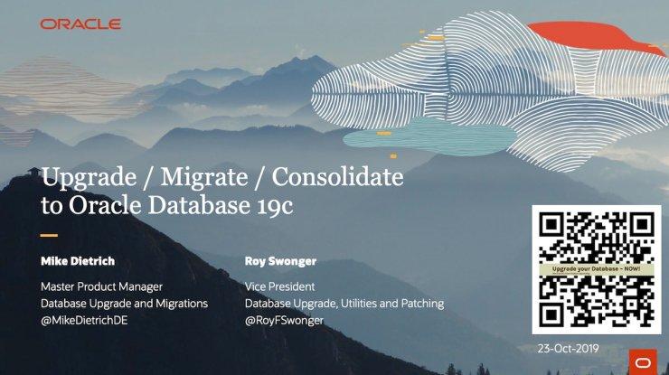 New version of Upgrade / Migrate / Consolidate to Oracle 19c uploaded