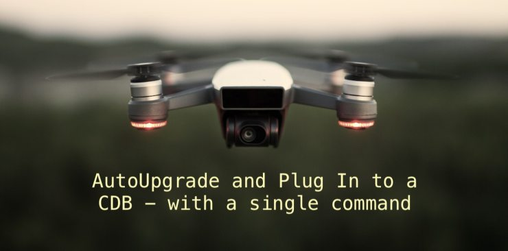 AutoUpgrade and Plug In to a CDB - with a single command (and video)