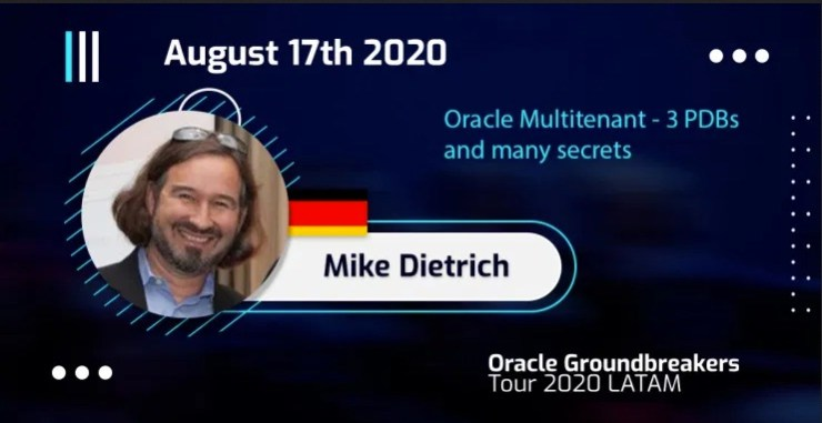 LAOUC Web Seminar: Oracle Multitenant - 3 PDBs and many secrets