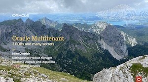Multitenant - 3 PDBs and many secrets