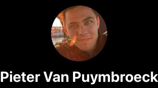 In Memory of Pieter van Puymbroeck