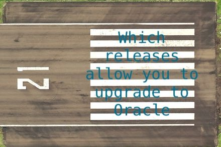 Which releases allow you to upgrade to Oracle Database 21c?