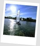 River Thames sail boat