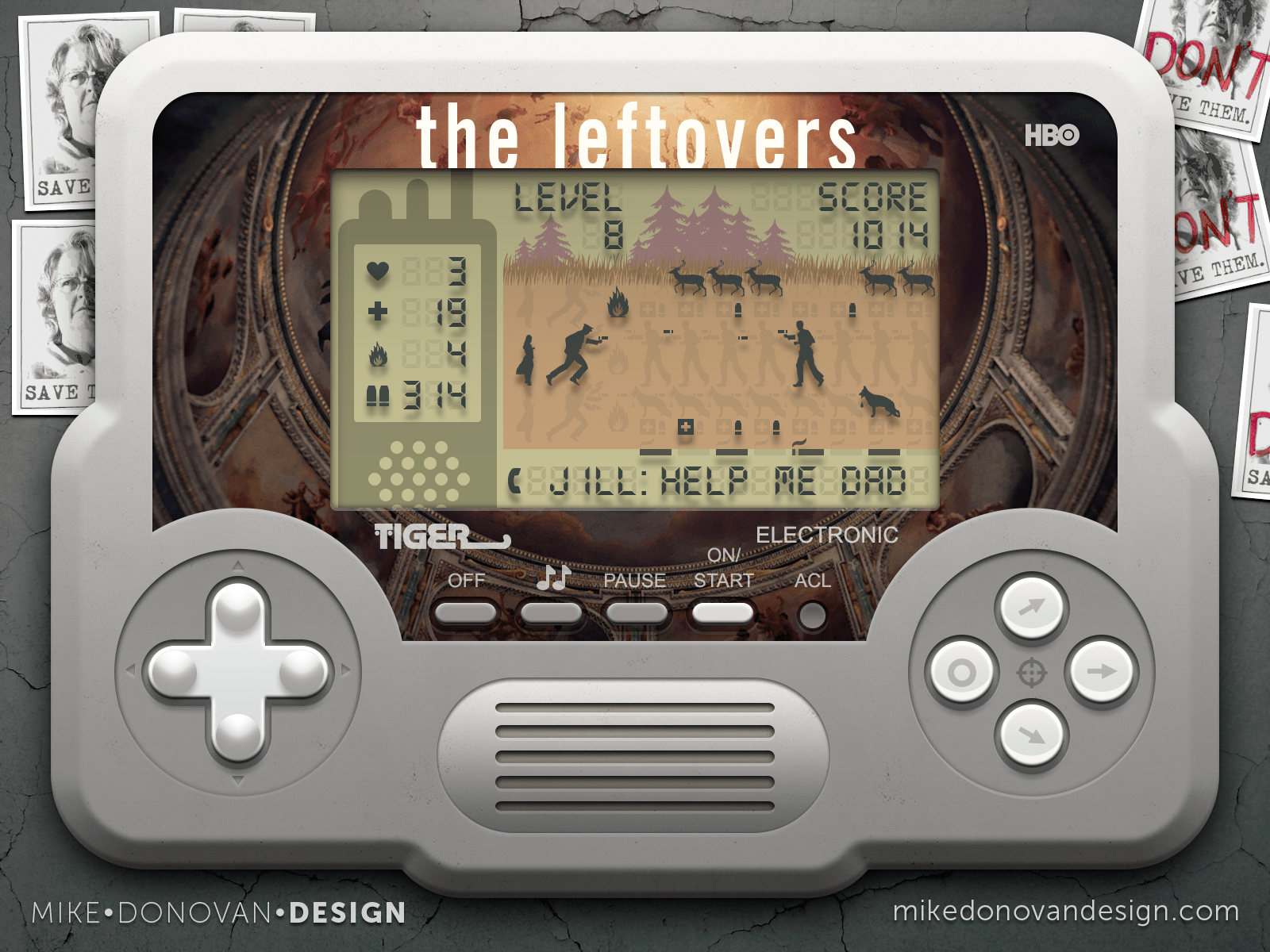 Mike Donovan Design | The Leftovers Throwback Handheld Game