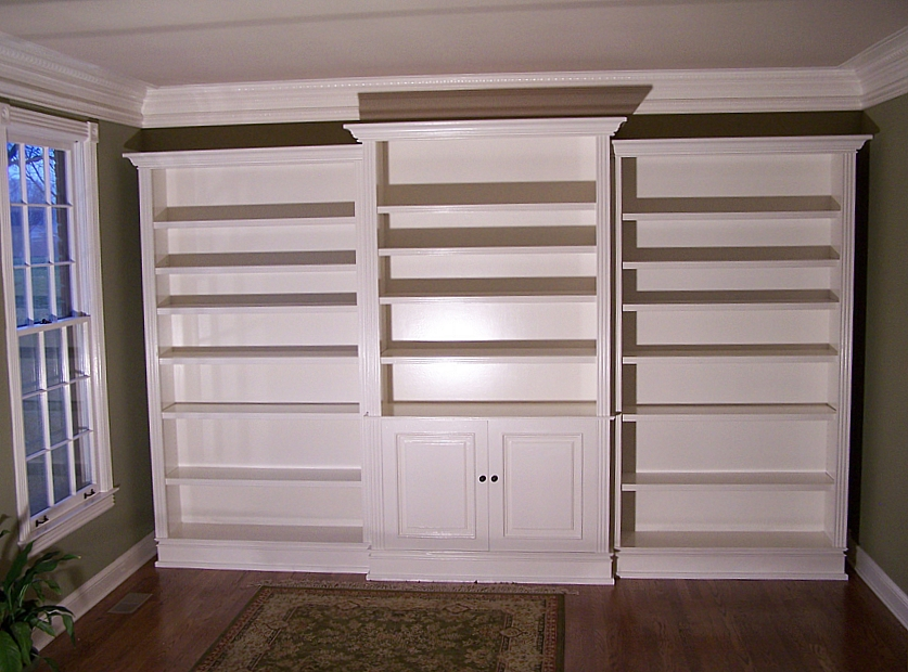 Floor To Ceiling, Wall To Wall Bookcase Advice