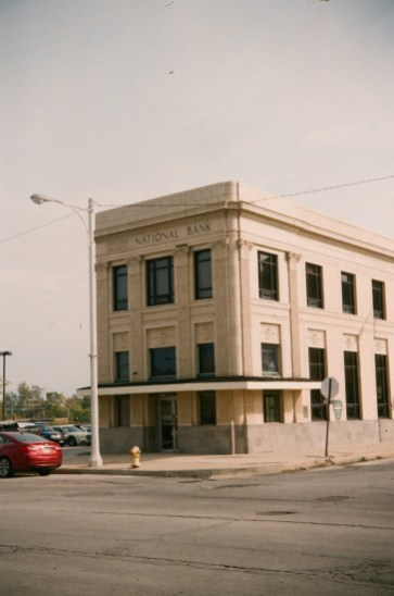 An old bank in Chicago Heights, IL.