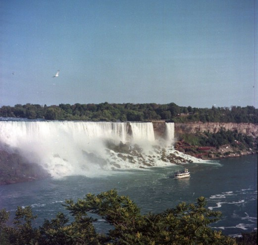 Niagara Falls, from the Canadian side.