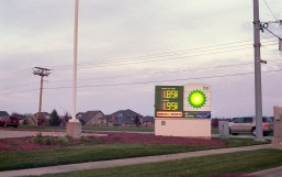 It doesn't look like it, but this was shot at dusk relying on the meter. I am impressed the old CdS meter was accurate.