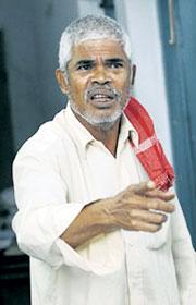 Govidan Kutty, editor of People\'s March, India