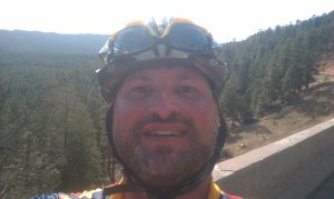 Quick stop on the climb up the Mogollon Rim