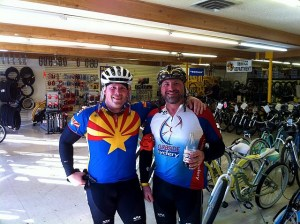 Me and Leonard Zito after 200k Brevet