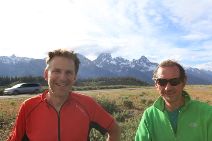 Paul & Terry at Grand Teton National Park