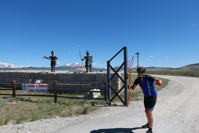 The Warrior -- South Park, CO.