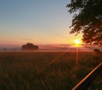 Sunrise in the Ozarks --Houston, MO