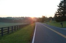 Sunrise in Appalachia