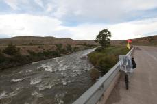 The Wind River. --Southeast of Dubois, WY