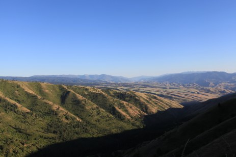 At the top of White Bird HIll, ID