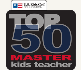 US Kids Golf Master KIds Teacher Logo For Website