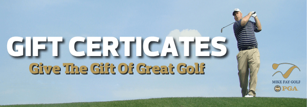 Gift Certificates For Golf Lessons