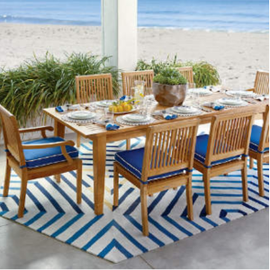 Cassara Dining in Natural Finish