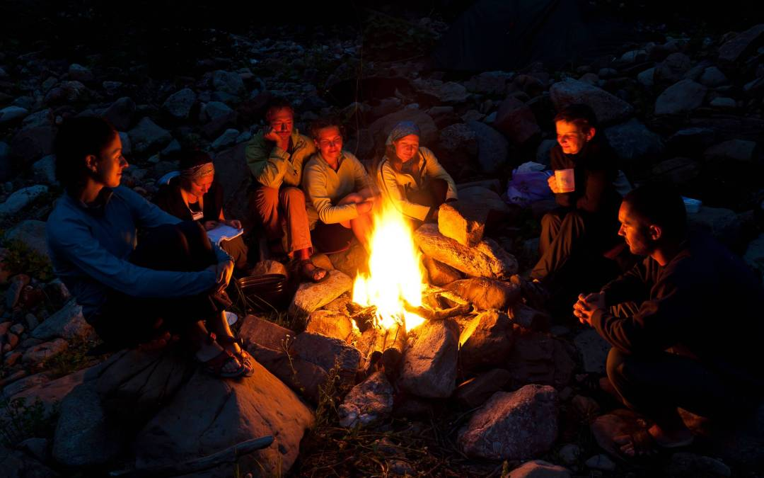 Look for the campfires of kind and gentle Christian people