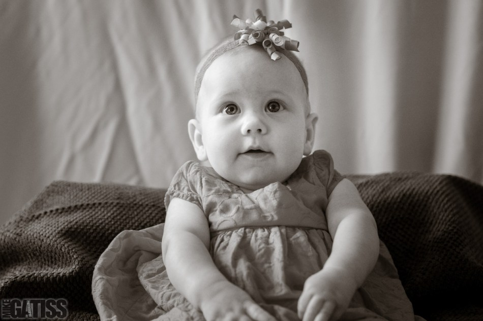 Cute doesn't come close to describing this baby portrait