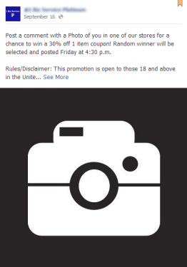 www facebook com 1BizServicePlatinum photo contest 5 Facebook Timeline Contest Types and 10 Examples You Can Run Now