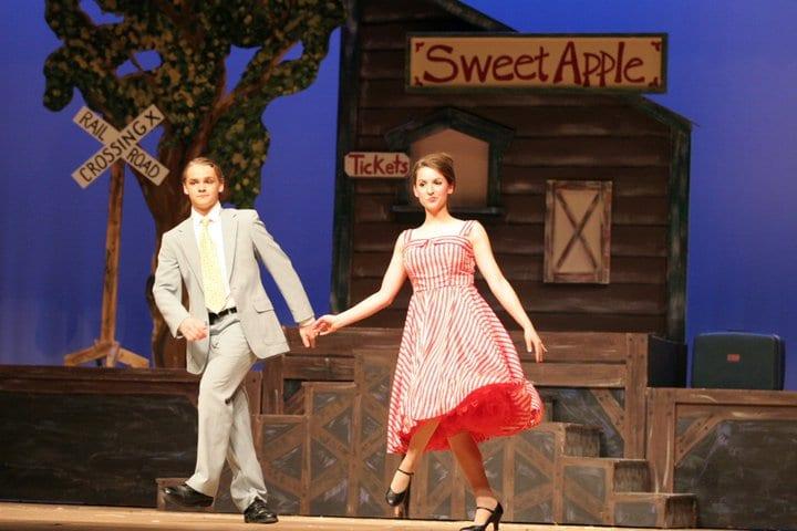 high school theater performance of Bye Bye Birdie