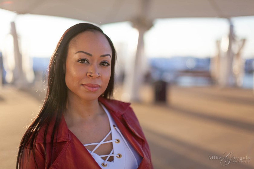 Portrait Session at National Harbor With Tanarah