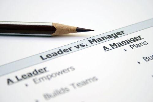 12984010 - leader versus manager