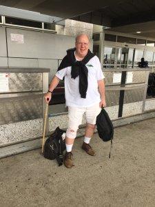 A cultural warrior leaving Texas.